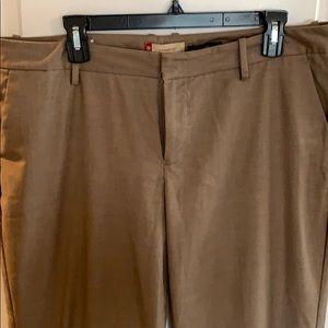 GAP tan trousers, size 14 long